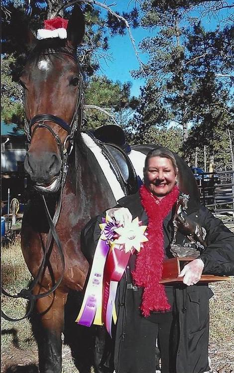 Barbara Mclnea with Drizarma