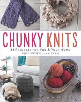 Chunky Knits - Herringbone Tote & Lace Vest