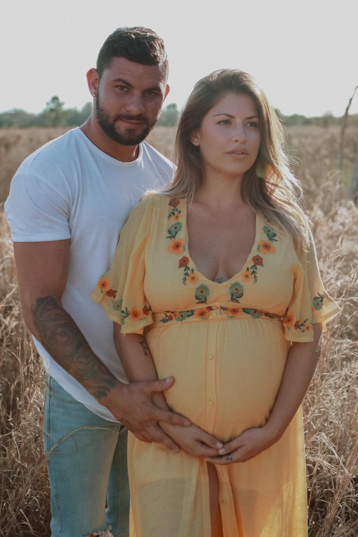 Goddess Maternity | Florida Maternity Session | Melanie Zentmeyer