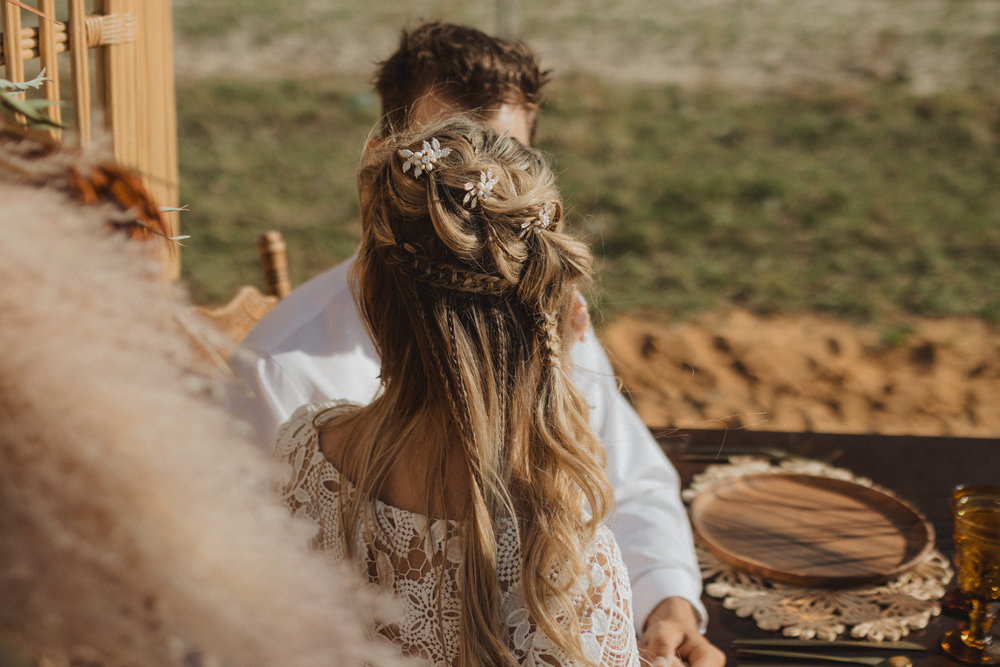 Boho Bridal Hairstyles | Boho Braid