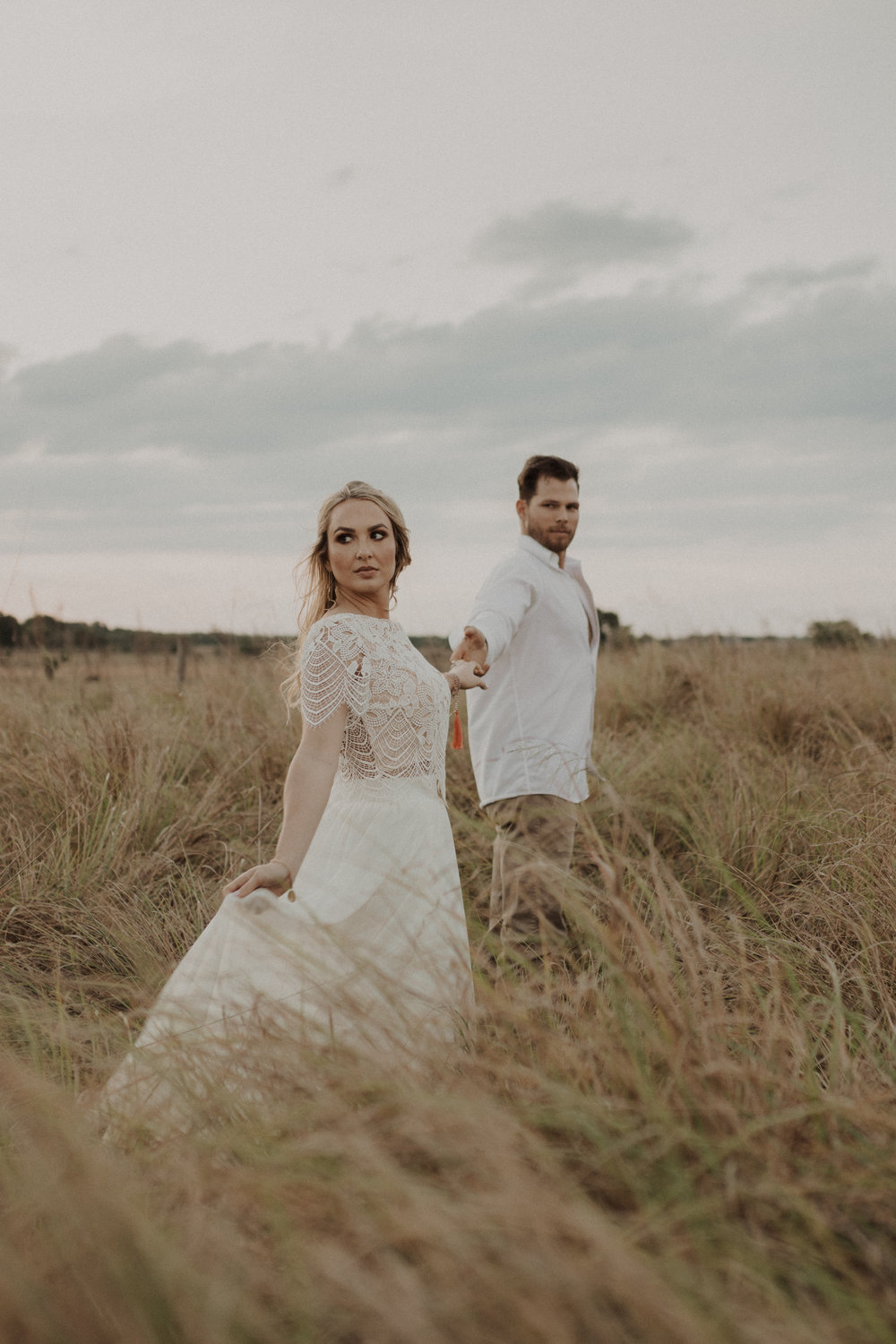 Bride and Groom Elopement Portraits