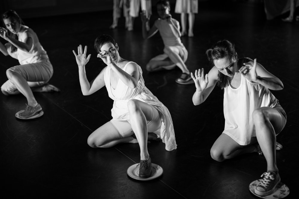 Image from Settle (2014), BBD's first Guest Collaborative Residency with Colorado-based choreographer, Rachel Oliver. photo credit: Jen Delong