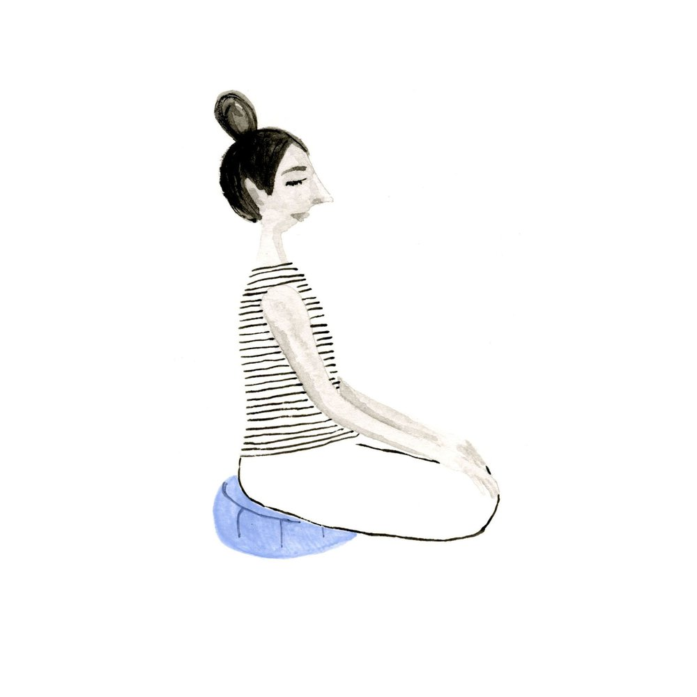 Easy seated pose