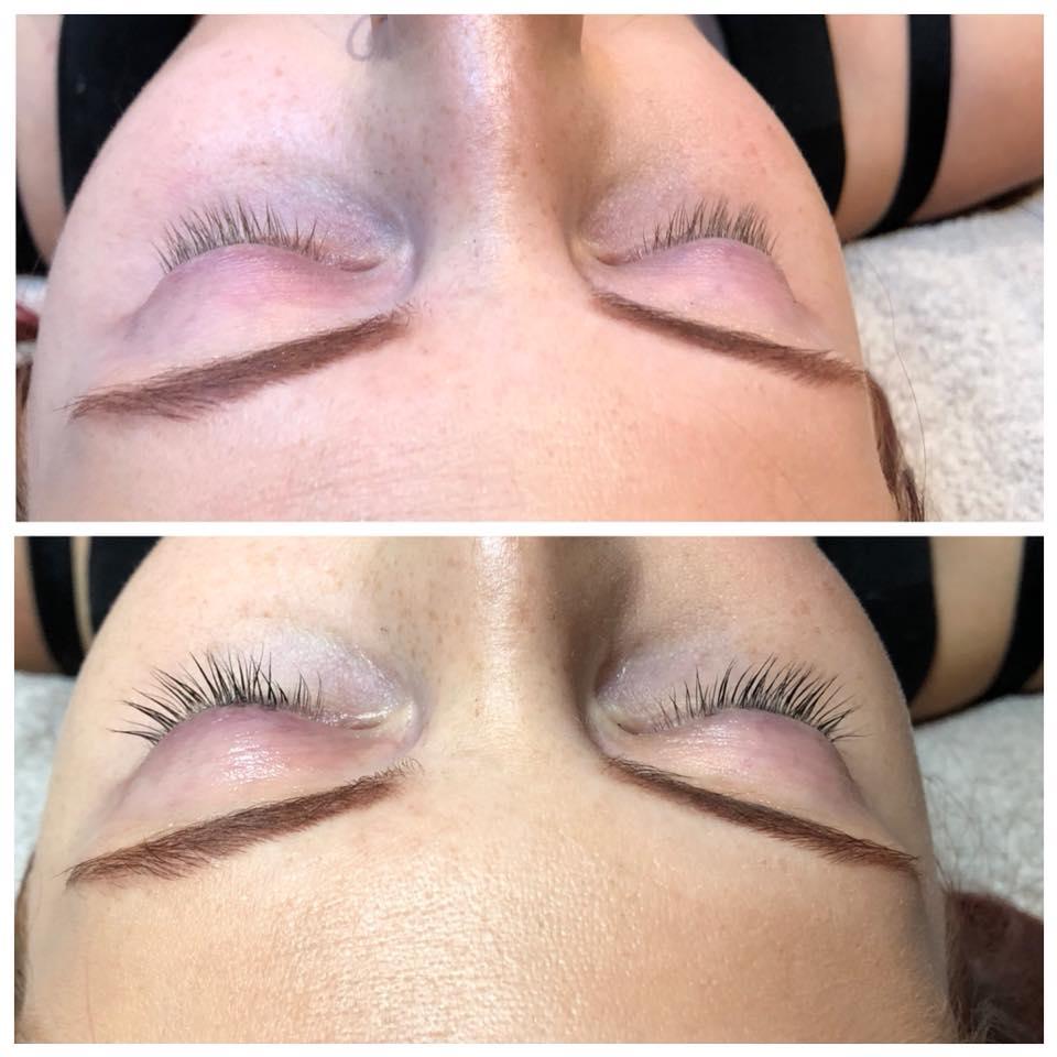 Lash Lift And Tint With Olivia Breathe Salon