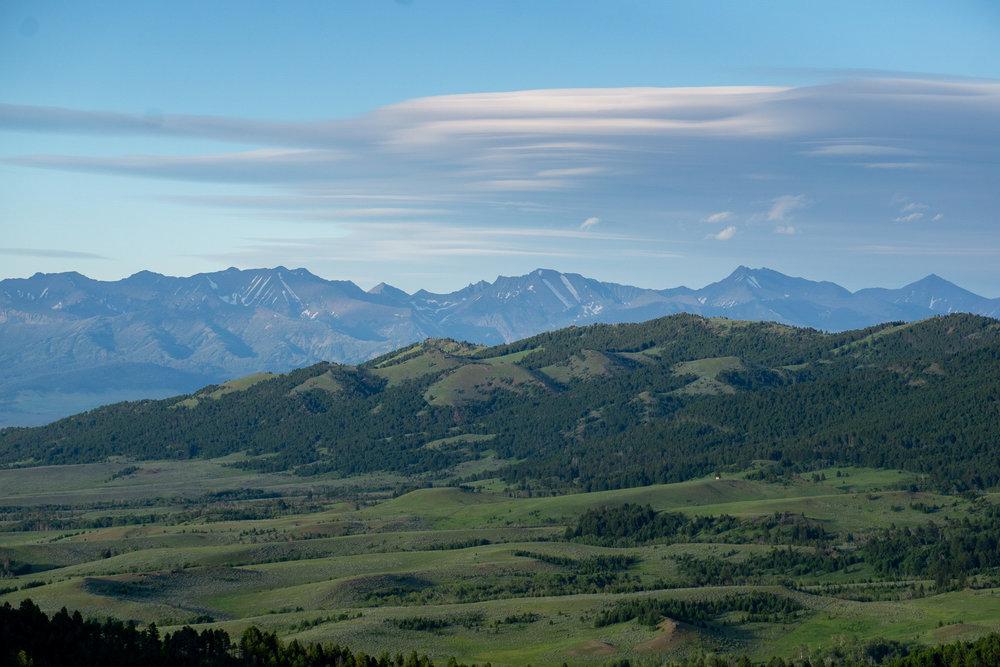 The green hills of South Dakota/Wyoming