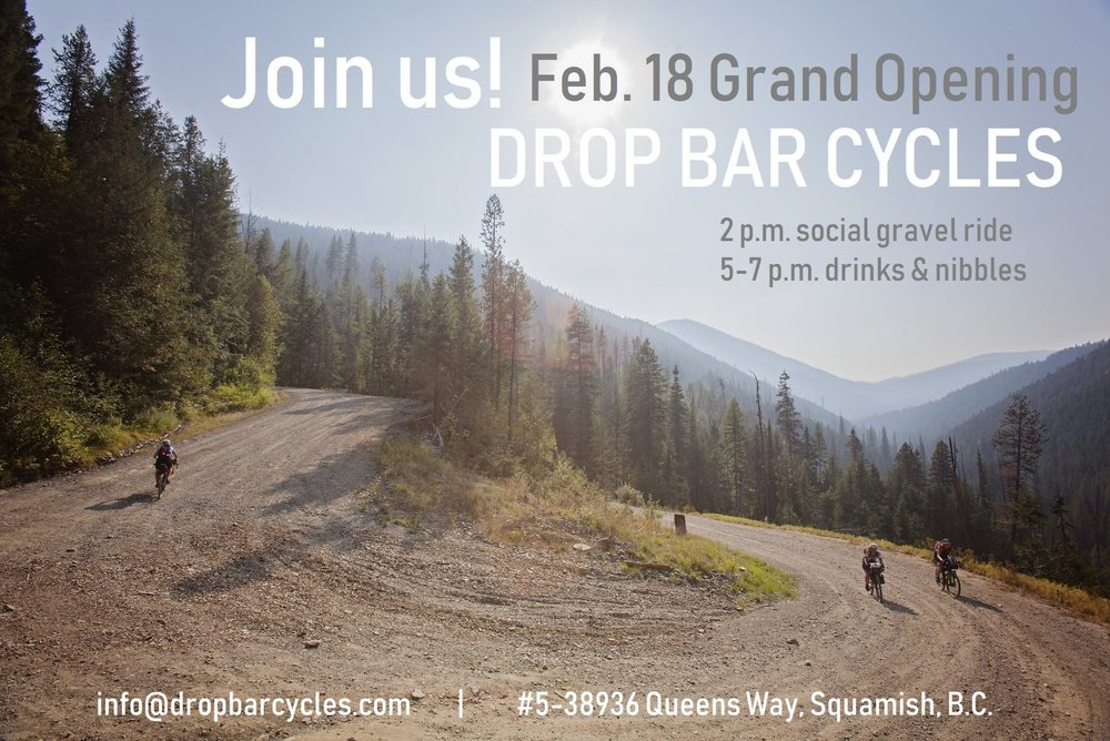 Help us celebrate with some gravel! - Join us at our store's grand opening gravel ride and aprés party on February 18.