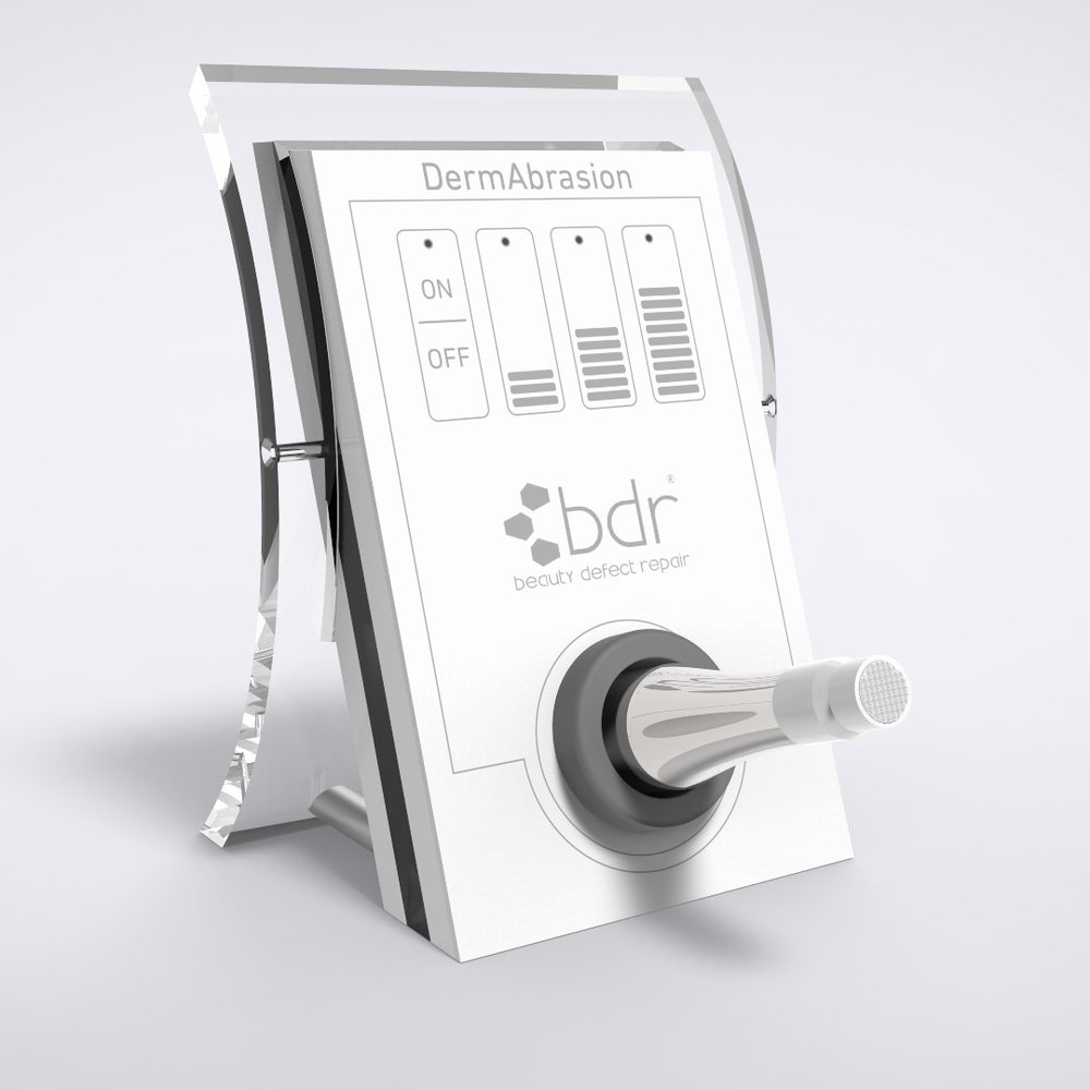 DermAbrasion - Brushabrasion (Micropeel and Profipeel) bdr's patented dermabrasion system that is crystal free, gentler and more effective.
