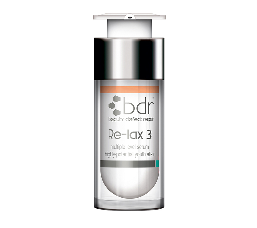 RE-LAX 3   Multi-layer intense serum with phtyo-extracts, tri-peptides and high tech IDCs