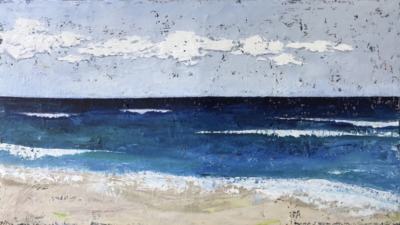 Coastline | oil on canvas | 26 x 46 inches | SOLD