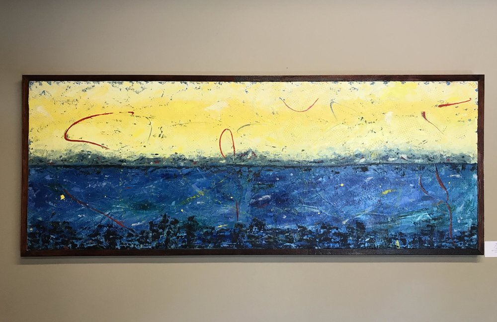 Mt. Esjan, 21 x 56, starting bid $675 -