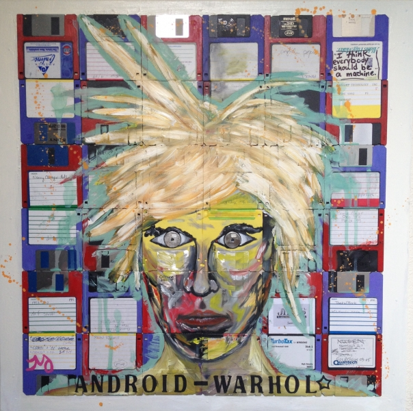 Android warhol, 24x24, starting bid $375 -