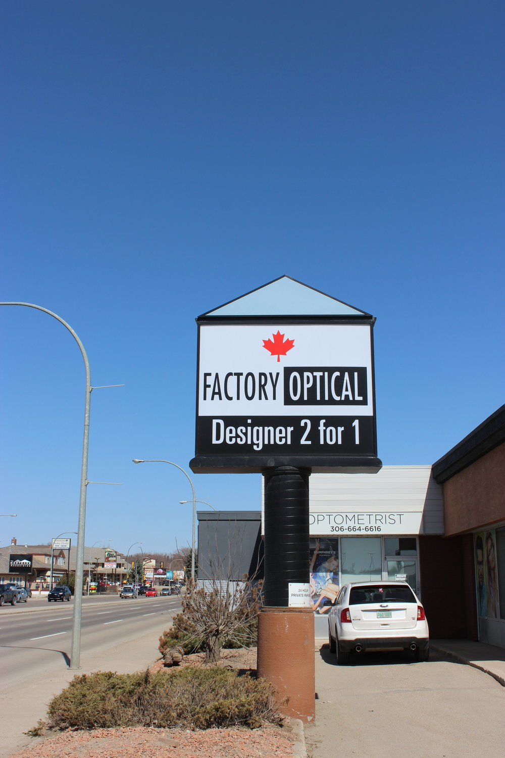Factory Optical, Saskatoon & Kamloops