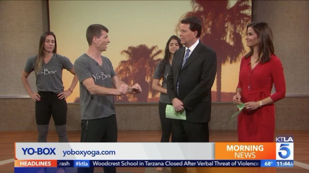 We're on TV! - Check us out on KTLA's Morning News.