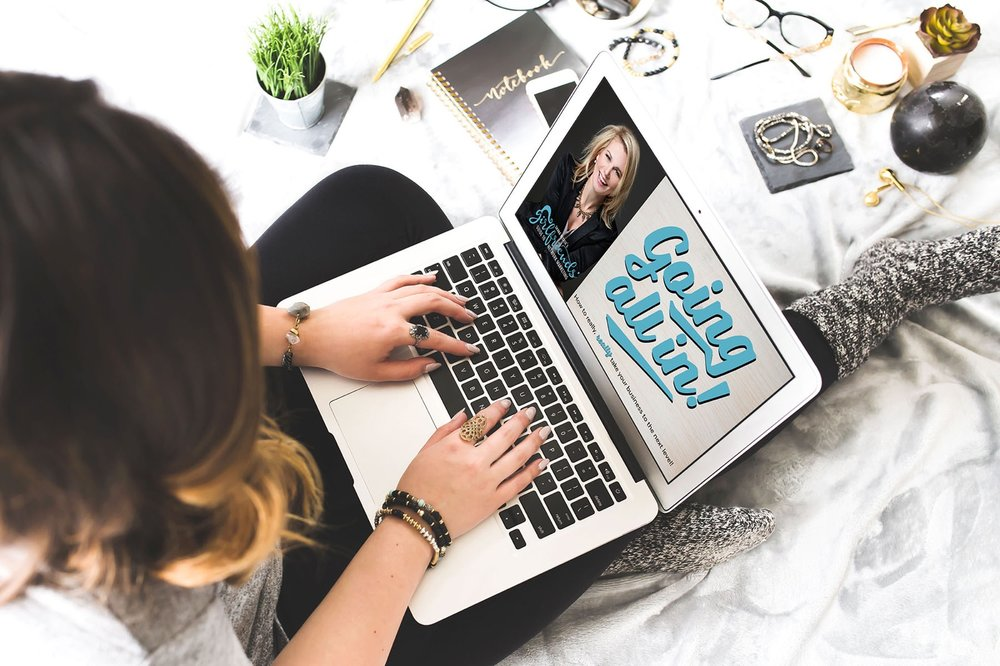 take your business tothe next level.GO ALL IN - My Signature self-paced course for network marketing sisters ready to get serious.