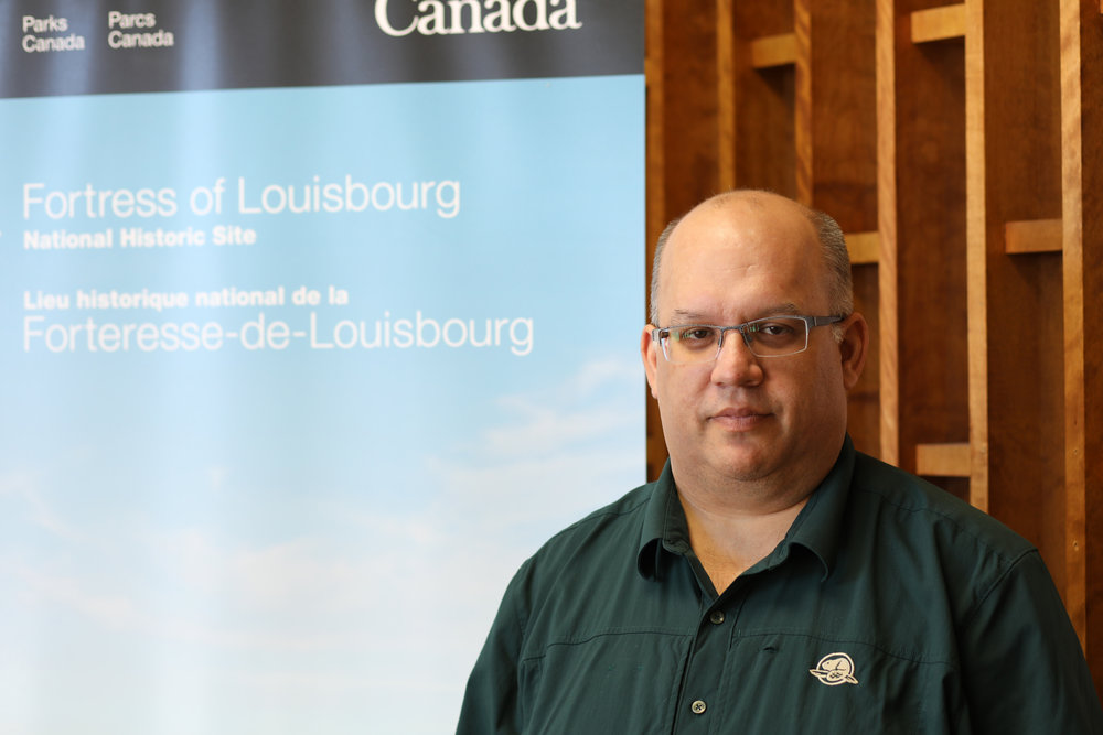 David Ebert of Parks Canada (Image used with permission from Parks Canada)