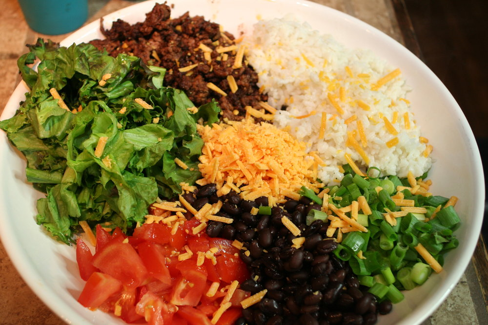 Loco Taco Bowl