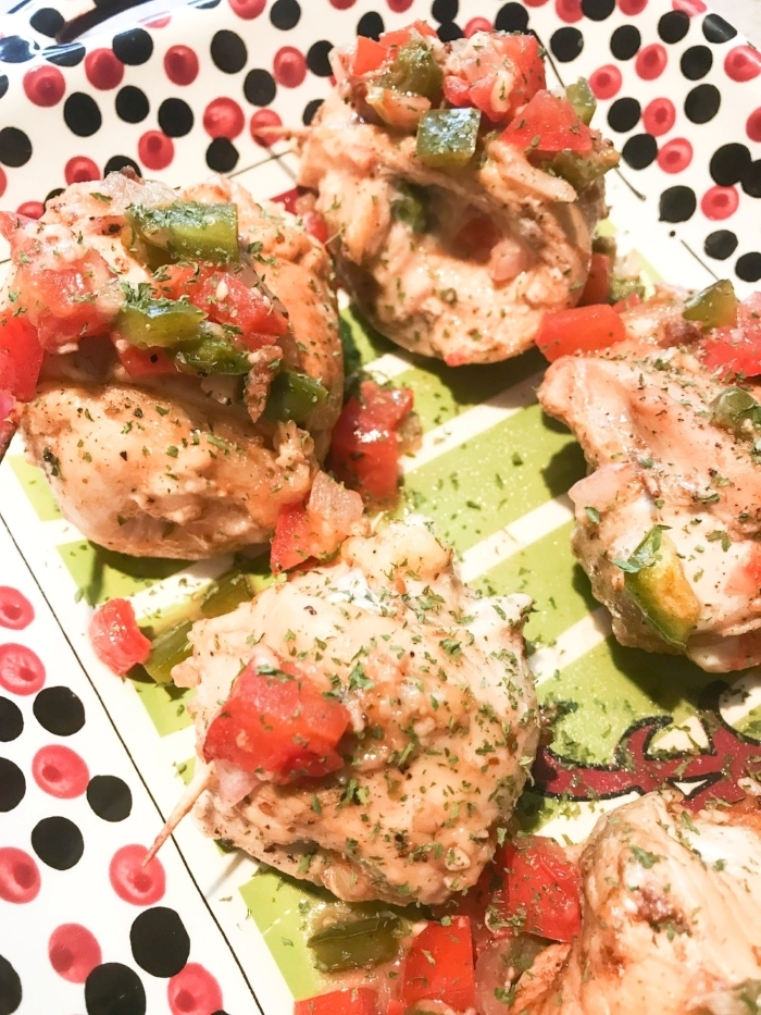 Super Saturday Stuffed Chicken Roll Ups - The Buttered Home