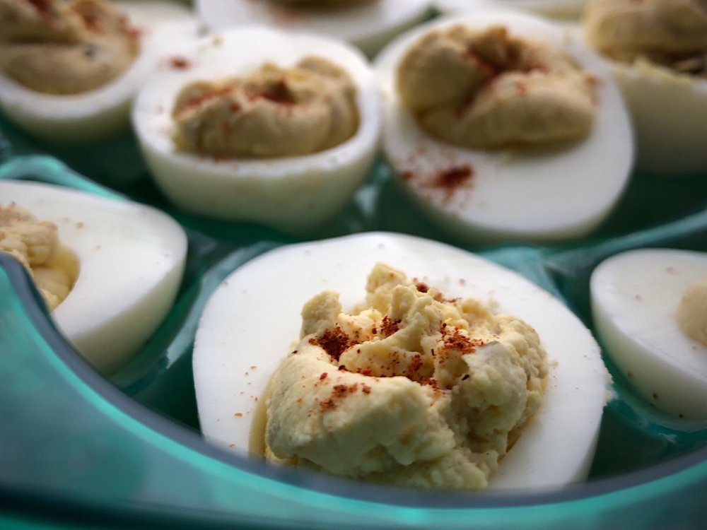 Deviled Eggs in the Instant Pot