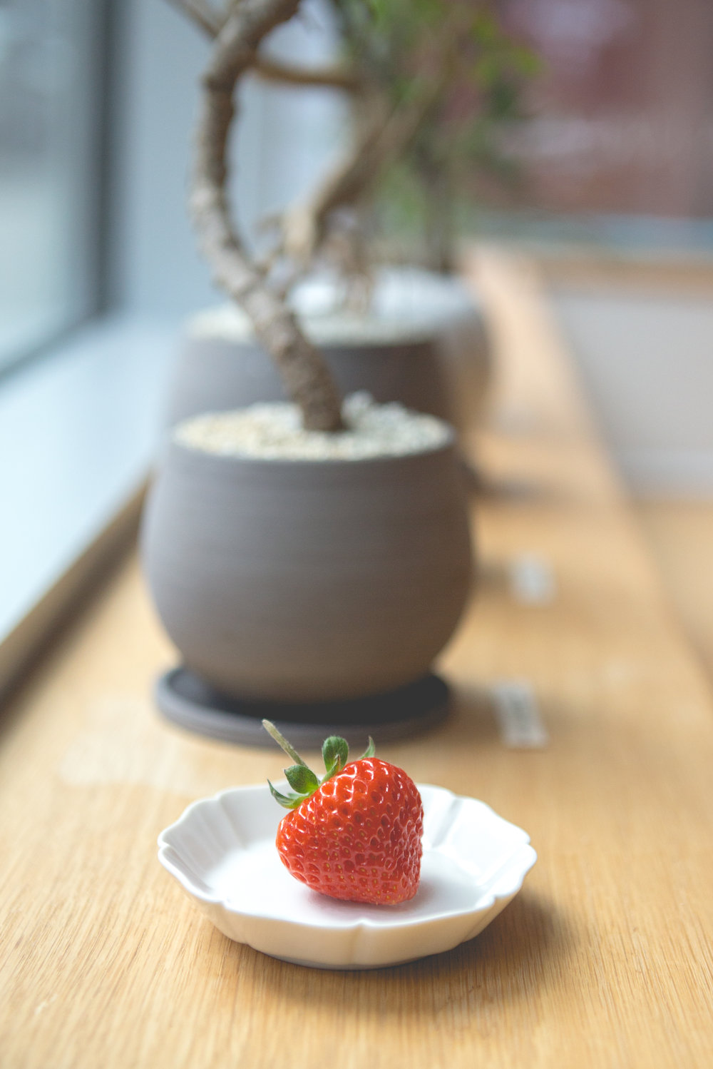 Japanese heritage and craftsmanship.  We admire Nalata Nalata's commitment to telling the stories behind Japanese artisans.  Happy 4th anniversary to the folks at  @nalatanalata !   #oishiiberry   #strawberry  #thepursuitofperfection   #オイシイベリー
