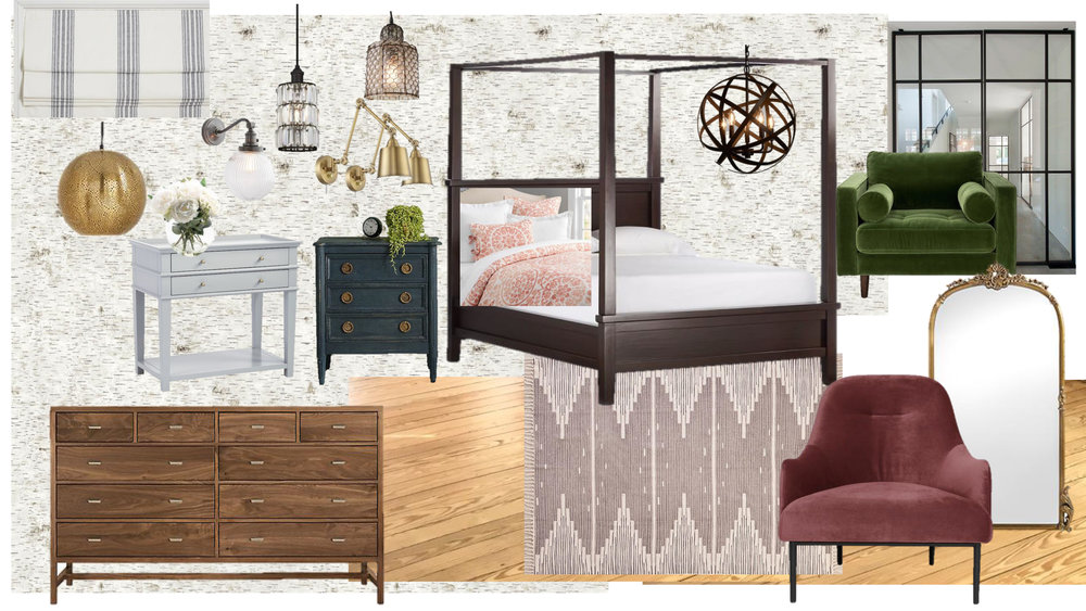 MASTER BEDROOM MOOD BOARD