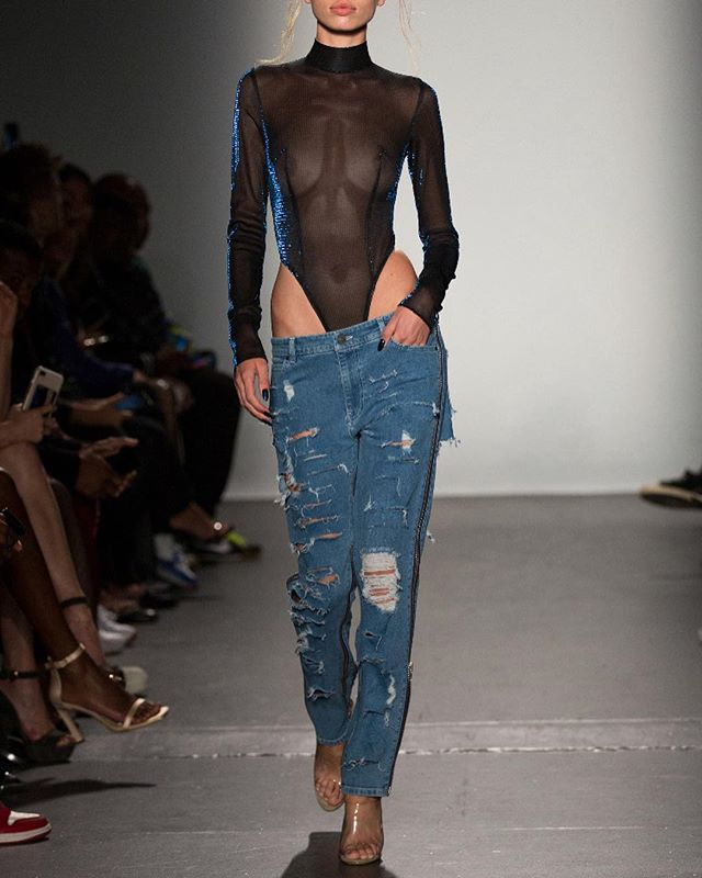 LaQuan Smith - Spring 2019 RTW  I cropped off the models heads to create more emphasis on the outfits.  Sometimes the beauty or popularity of the model(s) affects the perception of the pieces or label. Nothing against any model 💕