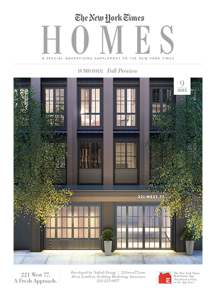 New York Times - Homes, September 2015