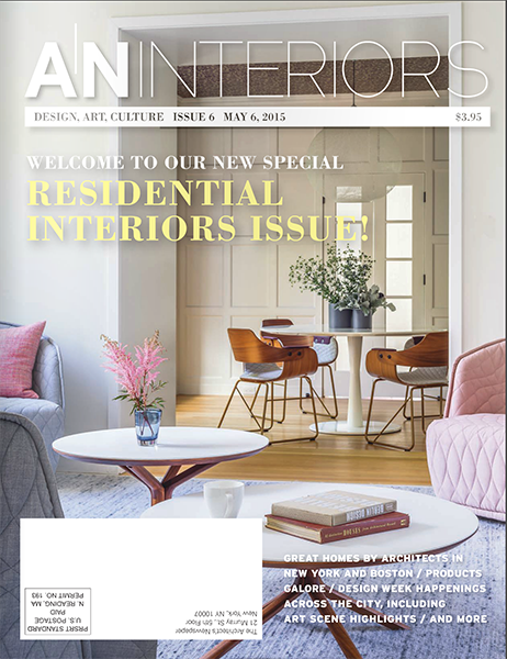 AN Interiors, May 6, 2015