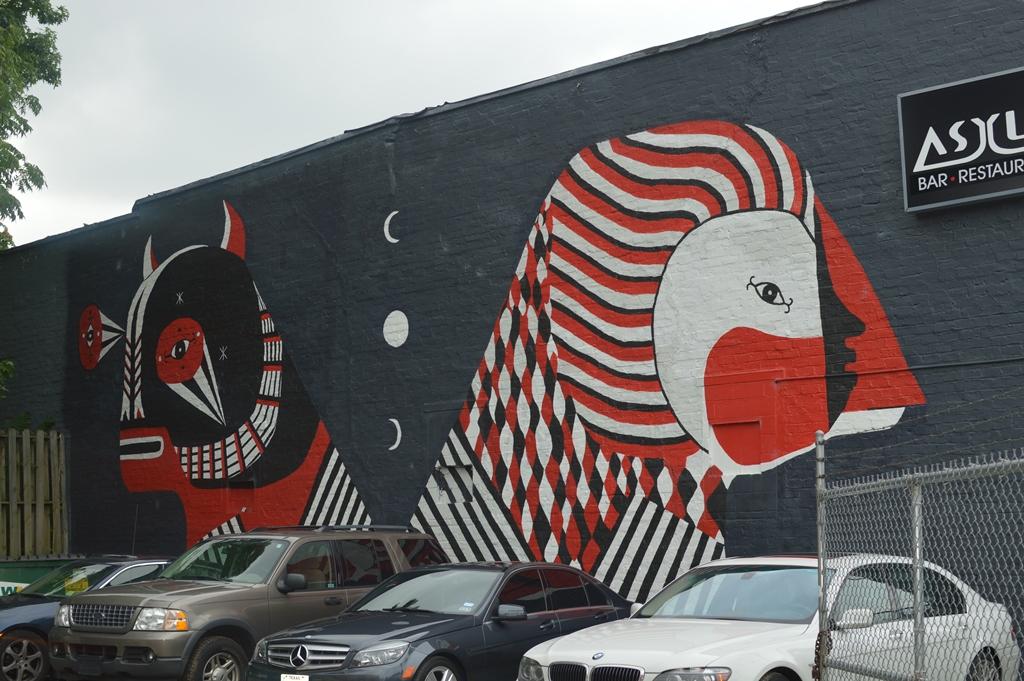 The City Dweller - Street Art - Bird 2