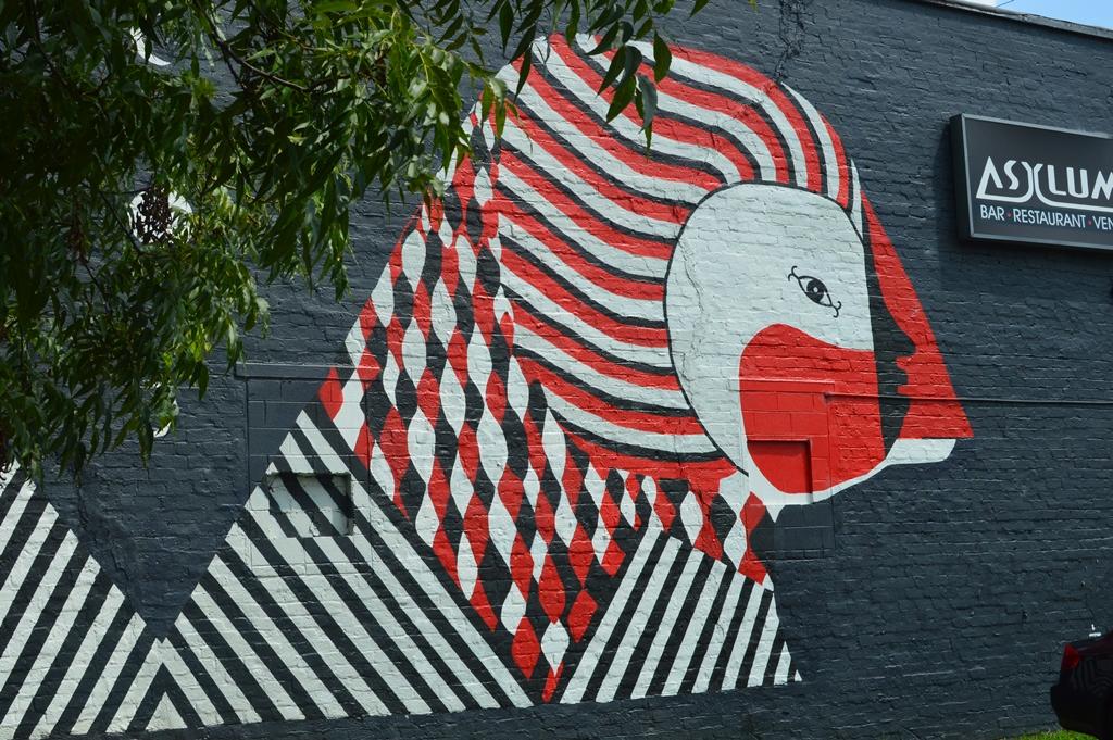 The City Dweller - Street Art - Bird 1