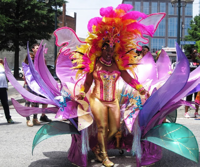 The City Dweller - Atlanta Caribbean Parade 2013