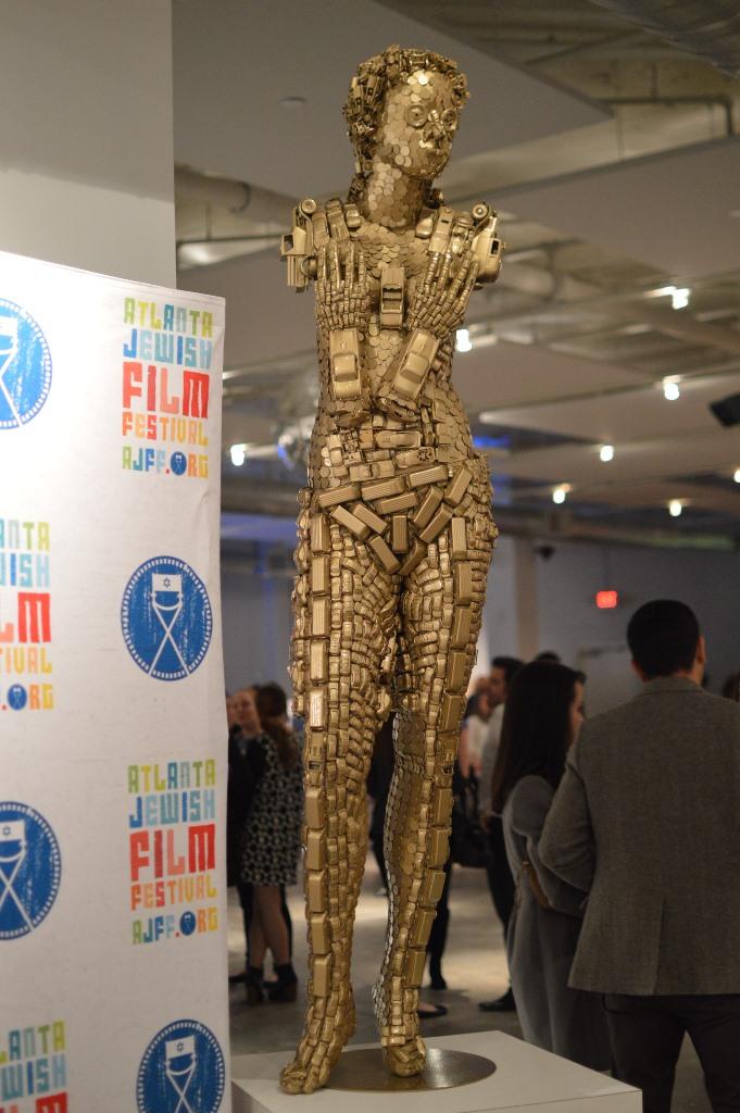 Woman sculpture - Atlanta Jewish Film Festival - The City Dweller