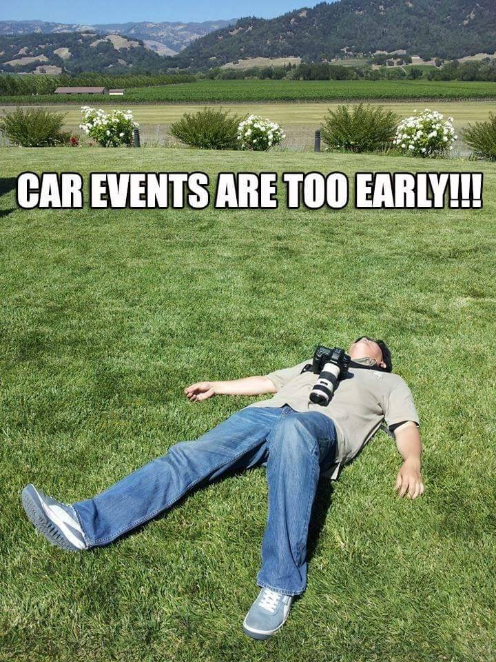 car events are too early