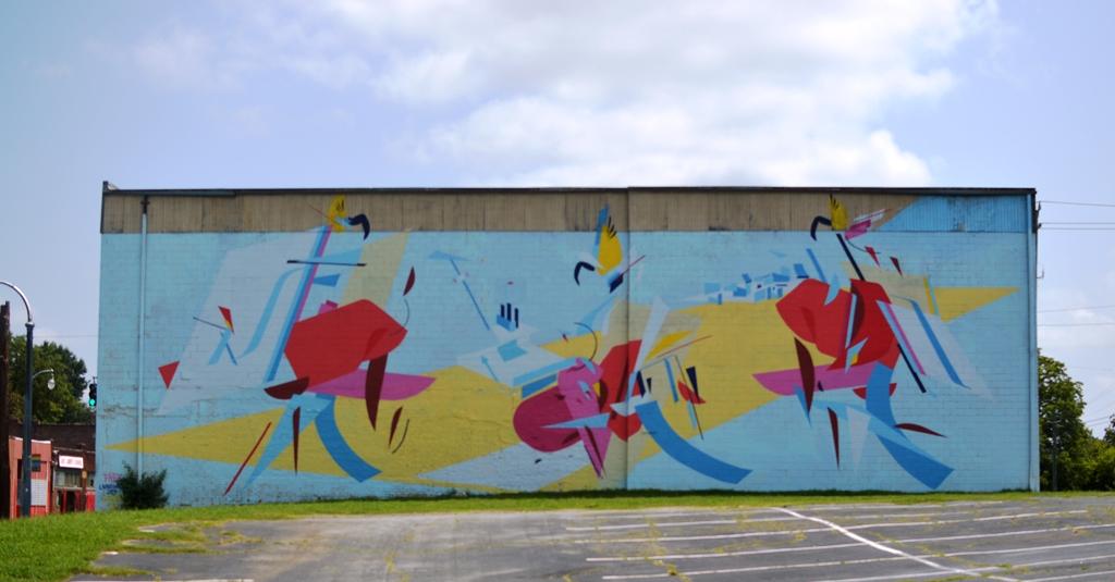 Street Art - Summerhill Atlanta - The City Dweller (1)