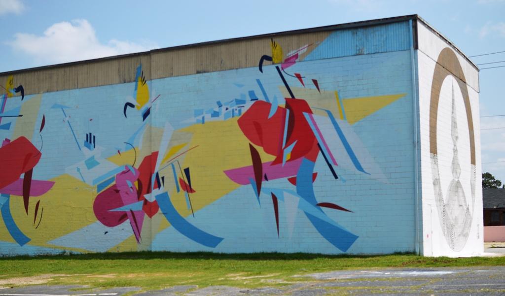 Street Art - Summerhill Atlanta - The City Dweller (2)