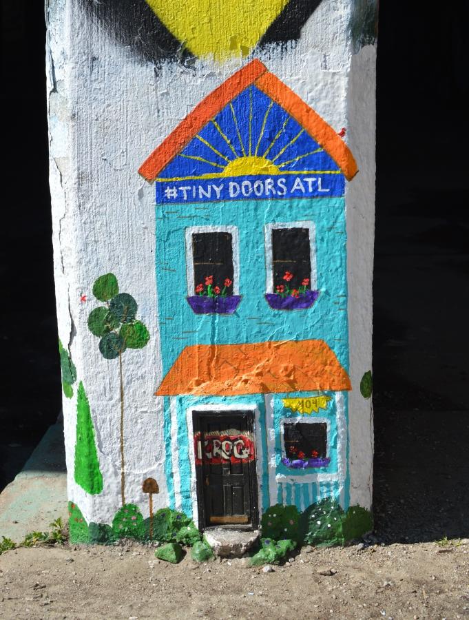 Tiny Doors ATL - The City Dweller (1)