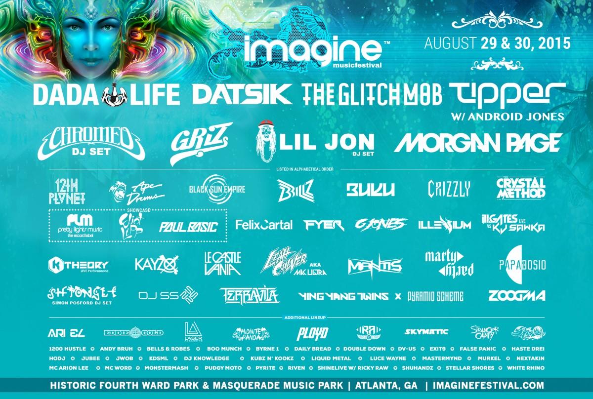 2015 Imagine Music Festival Line Up