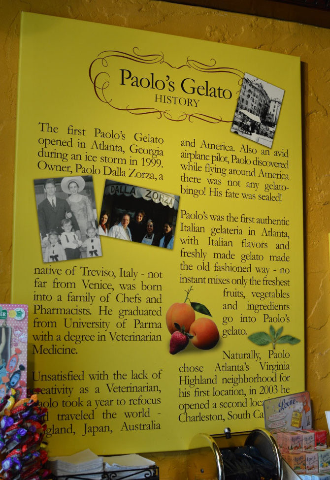 Paolo's Gelato Italiano - Atlanta - The City Dweller (1)
