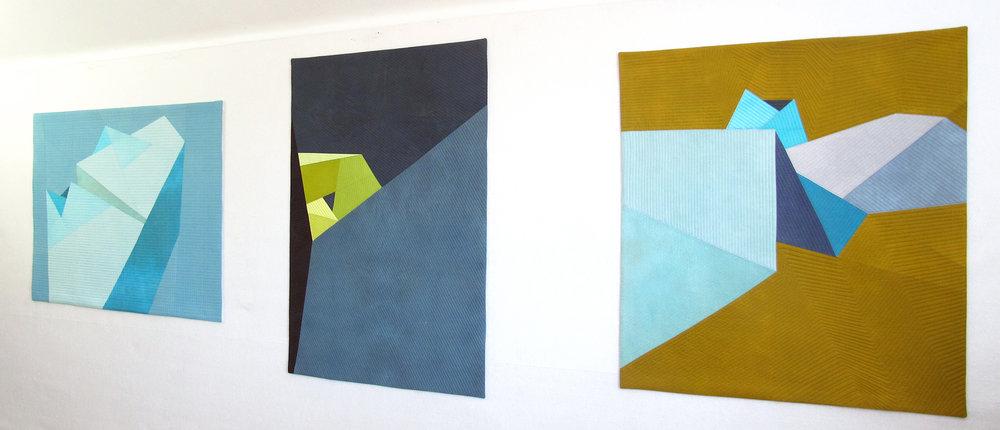 Icebreaker ,  Corner ,  Gold by Kathleen Probst