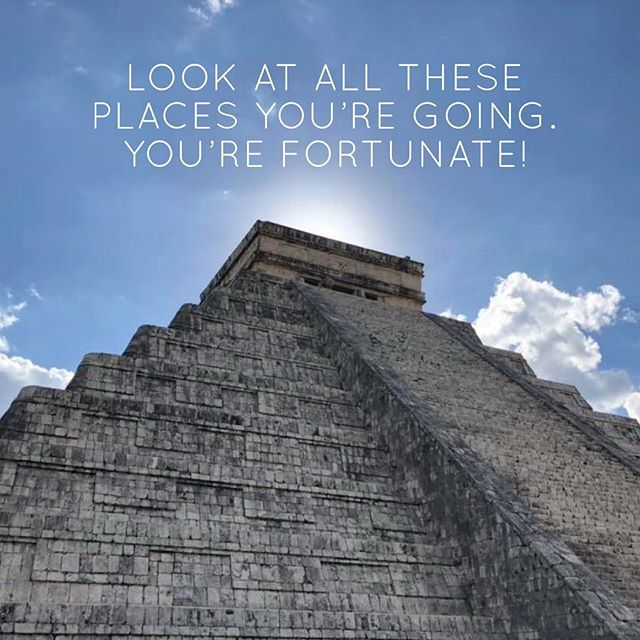 """Look at all these places you're going. You're fortunate!"" -@kingjayforce  We had a great time touring Cancun and the ancient Mayan grounds at Chichén Itzá and the Suytan cenote (sinkhole). Find out more about Jay's travels and how he feels about the humbling opportunities travel affords us ✈️🙏🏾 Link in profile @travelgracemercy  @jayforcedotcom . . . #🇲🇽 #Travel #Mexico #Cancun #ChichenItza #Kukulkan #Temple #Maya #cenote #Valladolid #Yucatan #TravelGraceMercy #airplane #flight #BlackAndAbroad @travelnoire #wanderlust #Podcast #blackguystraveltoo #blacktravelmovement #Airport #Atlanta"