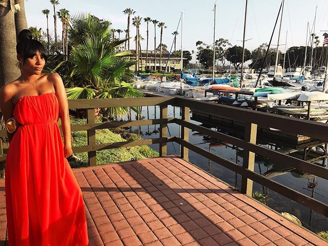 Took this shot of my big sissy @tashanav during #weddingszn💍 | The boats and beautiful San Diego made a perfect backdrop. #courtseye