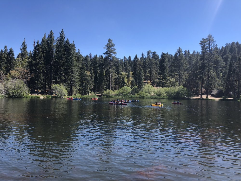 Canoeing at Pine Summit 2nd Annual Orchestra Camp