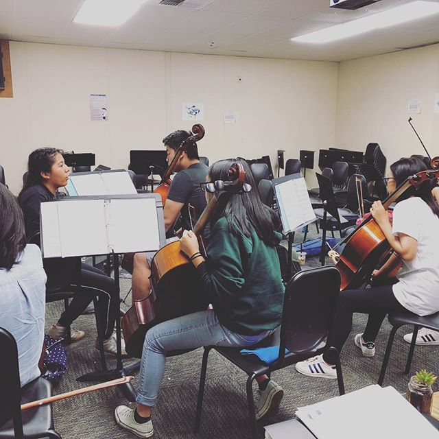 Honor orchestra sectionals!