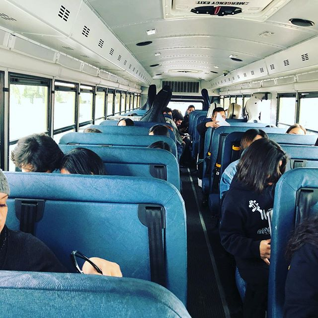 Nogales High School Orchestra on the way to Garden Grove HS for our SCSBOA Ratings Festival!