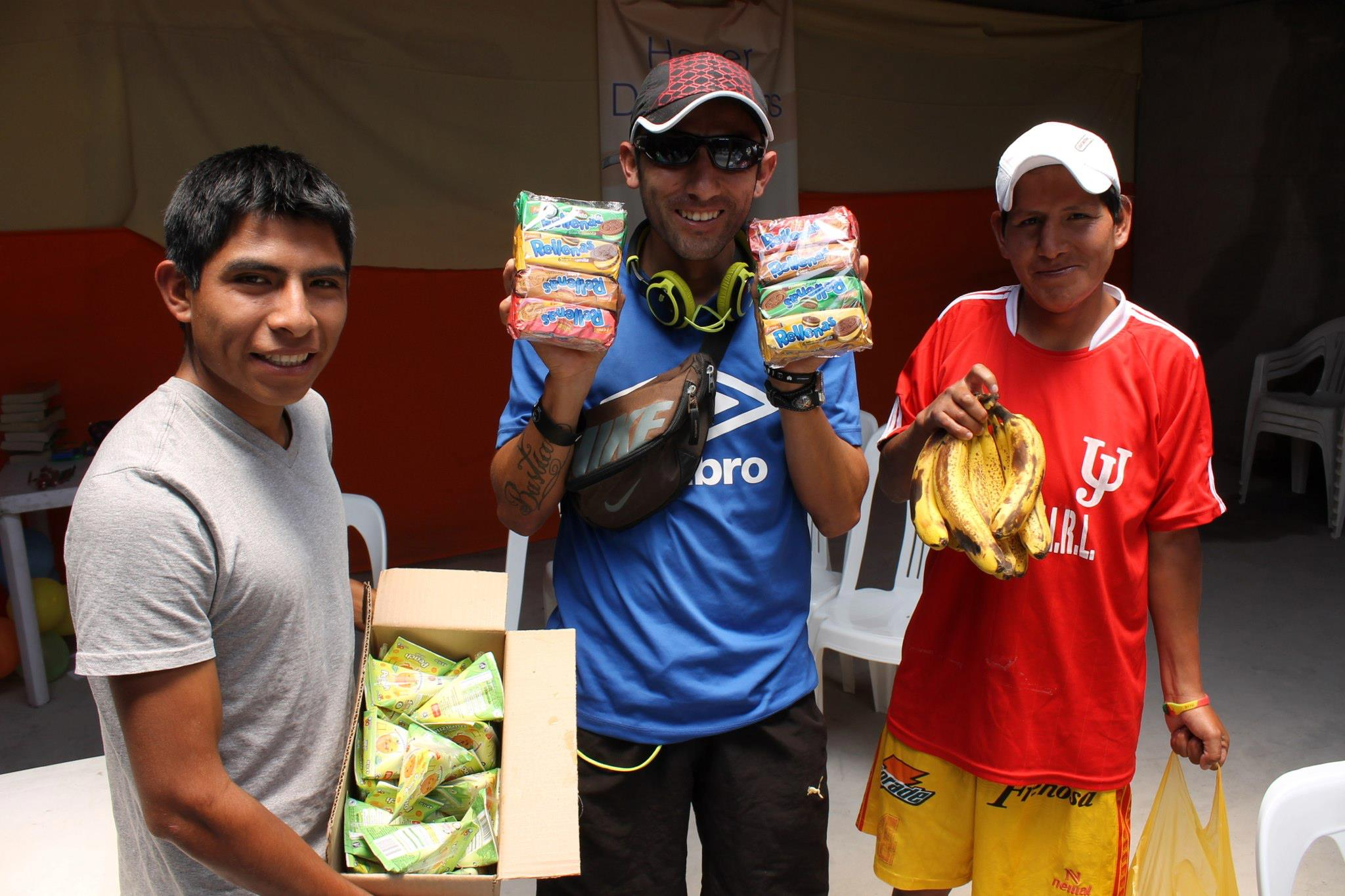 Providing food for kids at VBS