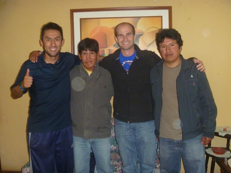 Rudy at Casa Abierta at his house
