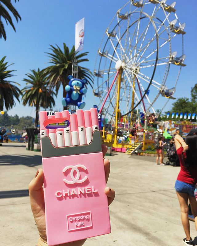 We'll be at the LA County Fair from 8/31-9/23. Come by the #Dream45 booth and grab a pack of Chanel cigarettes! . . . . #smallbiz #creative #minimal #lovedesign #3DiPhoneCases #lacountyfair #route66 #pomona #instagood #fairplex #losangeles #phonecases #iPhonecases #fashion