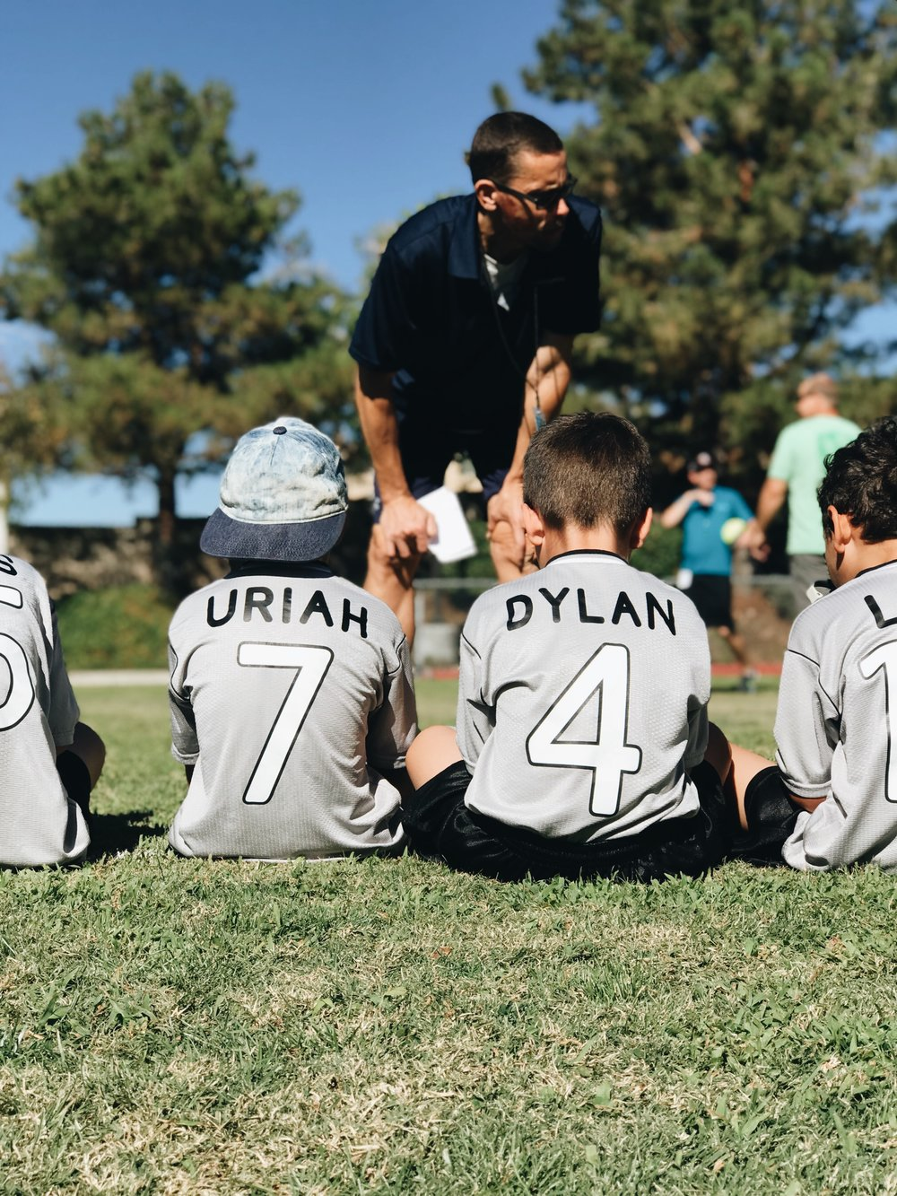 This was the second ever soccer game for my babe Uriah #soccermom