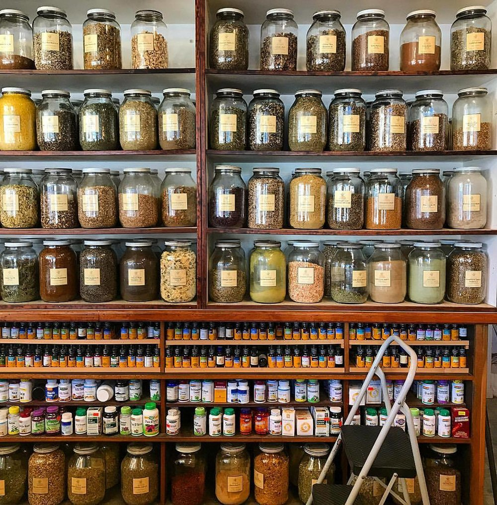 Replenishing the pantry.  -  #california #berkeley #spice #buyinginbulk  (at Lhasa Karnak Herb Co.)