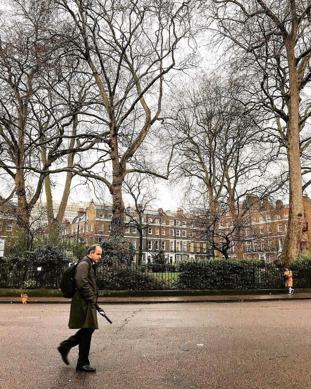 """No winter lasts forever; no spring skips its turn.""  Hal Borland (1900-1978), American author and naturalist   -  #unitedkingdom #england #london #bringyourumbrella  (at Marylebone London)"