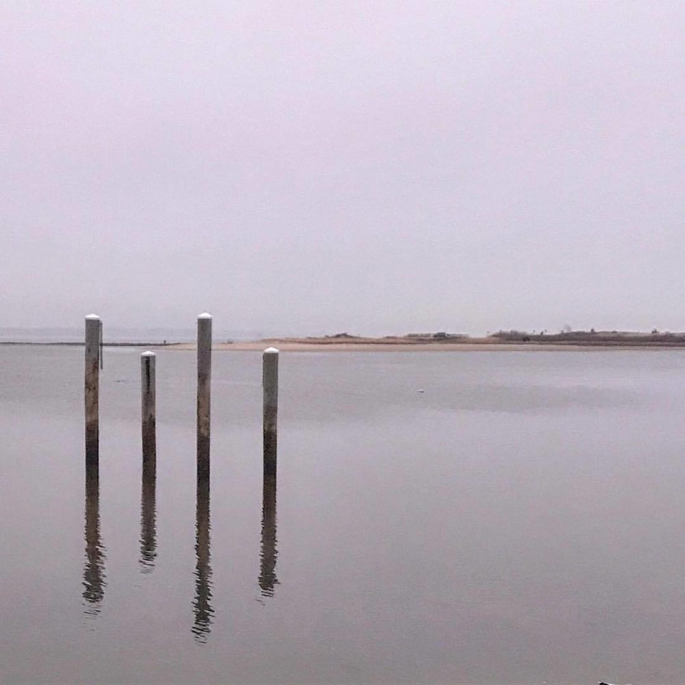 Winter reflections.  -  #massachusetts #capecod #awaitingtheangels  (at Osterville, Massachusetts)